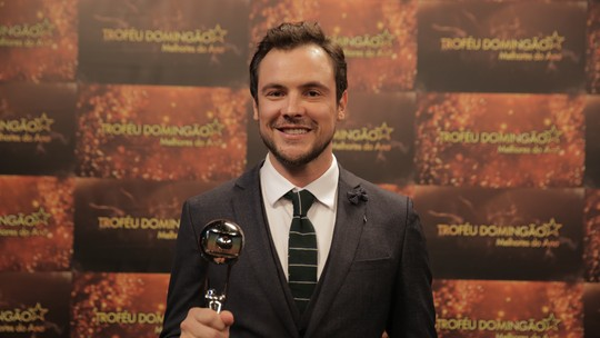 Troféu Domingão 2018 Sergio Guizé